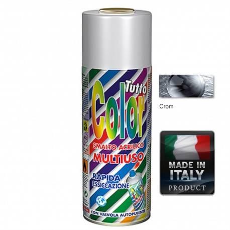 Vopsea Spray Argintiu Cromat Tuttocolor Macota 400ml.