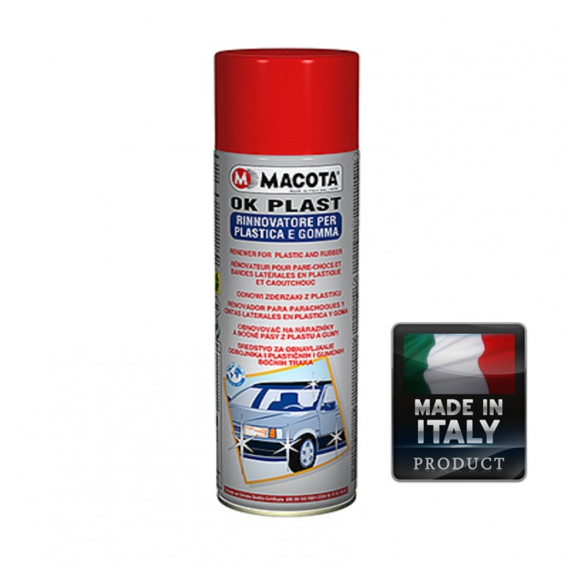 Spray Auto Revitalizant Plastic Si Cauciuc Macota 500ml.