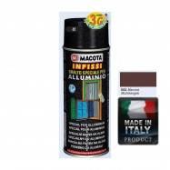 Spray Vopsea Pt. Aluminiu Maron Macota 400ml.