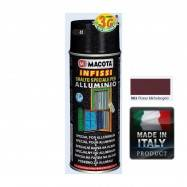 Spray Vopsea Pt. Aluminiu Rosu Macota 400ml.