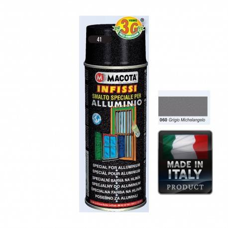 Spray Vopsea Pt. Aluminu Gri Macota 400ml.