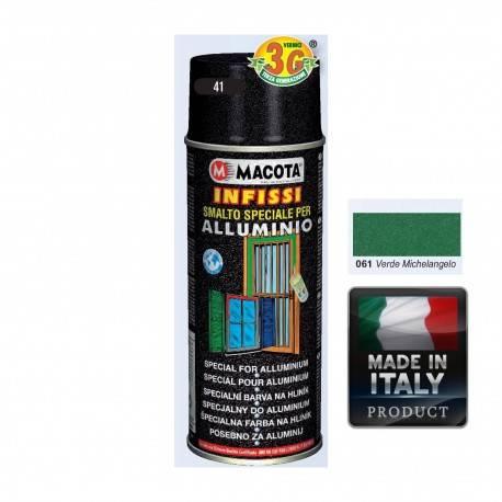 Spray Vopsea Pt. Aluminu Verde Macota 400ml.