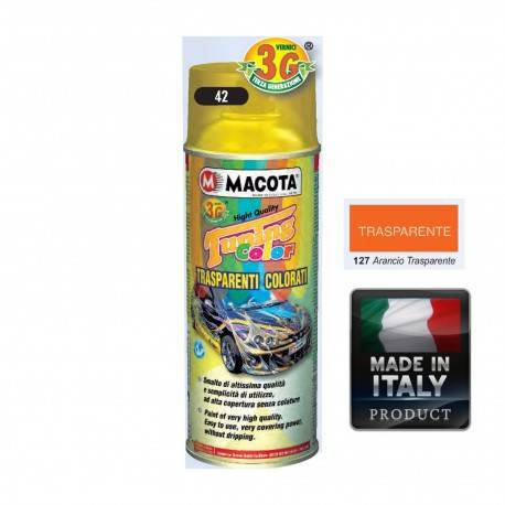 Vopsea Spray Transparenta Portocalie Macota 400ml