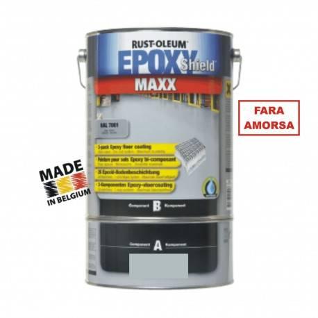 Vopsea Epoxidica Beton MAXX Gri RAL 7035 - Trafic Auto 5 Litri