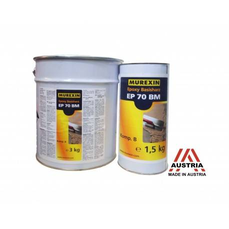 Rasina Epoxidica Transparenta EP 70 BM 4,5kg Murexin