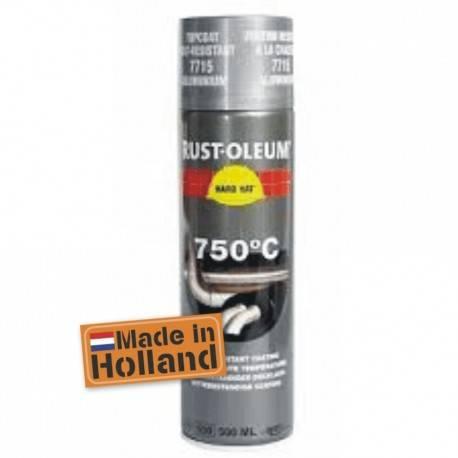 Vopsea Spray Temperaturi Inalte Aluminium 750 C 500ml