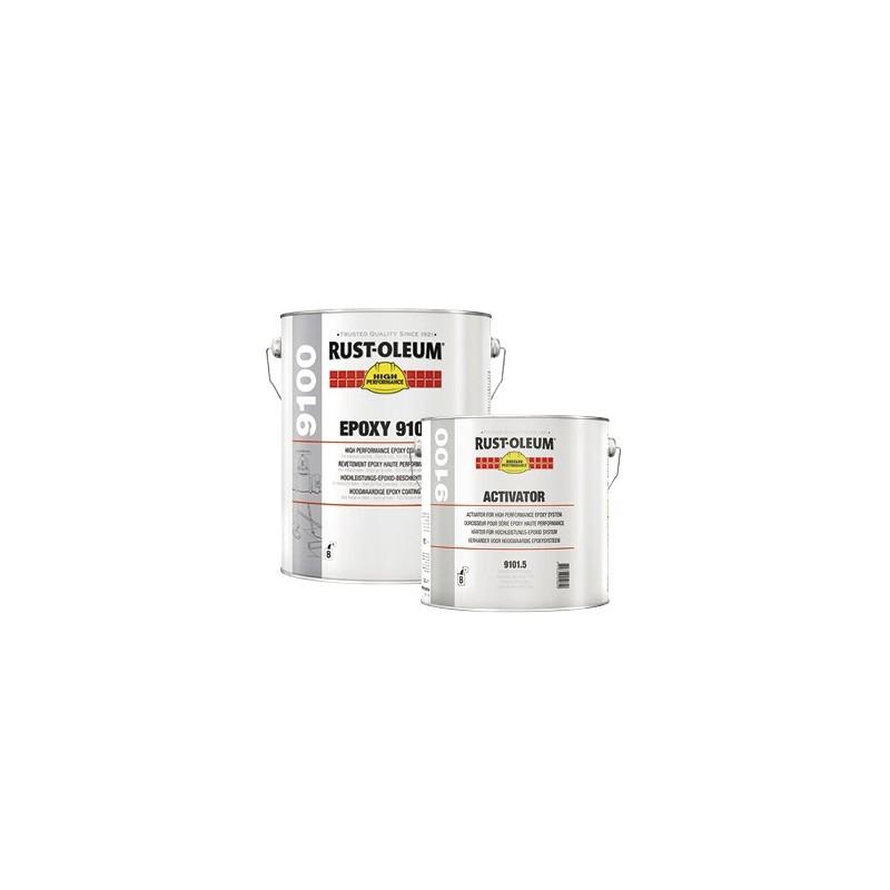 Vopsea Epoxidica Profesionala 9100 Alb RAL 9010