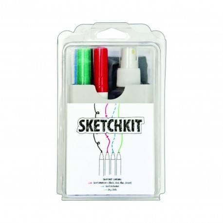 Kit Scriere/Curatare Pentru Whiteboard MagPaint