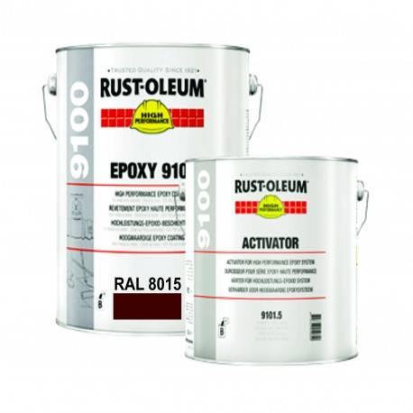 Vopsea Epoxidica Beton 9100 Maro RAL 8015 - 5 L