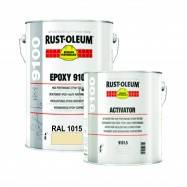 Vopsea Epoxidica Profesionala 9100 Crem RAL 1015 5 Litri