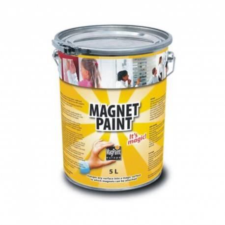 Vopsea Magnetica gri inchis MagPaint 5 Litri