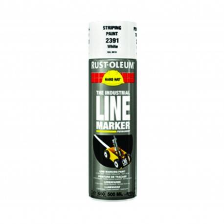 Vopsea Spray Marcaje si Trasari Rust Oleum Alb 500ml