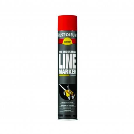 Vopsea Spray Marcaje Si Trasari Rust Oleum Rosu 750 ml