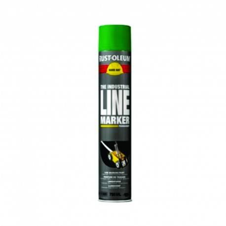 Vopsea Spray Marcaje Si Trasari Rust Oleum Verde 750 ml
