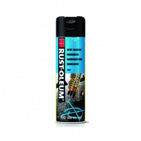 Vopsea Spray Marcaje Forestiere Si Constructii Spotmark Albastru 500ml