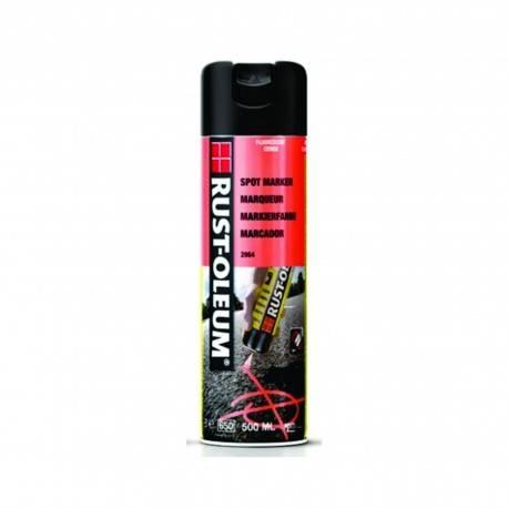Vopsea Spray Marcaje Forestiere Si Constructii Spotmark Rosu 500ml