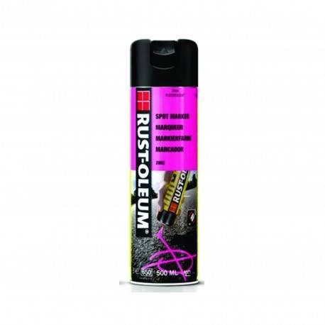 Vopsea Spray Marcaje Forestiere Si Constructii Spotmark Roz 500ml