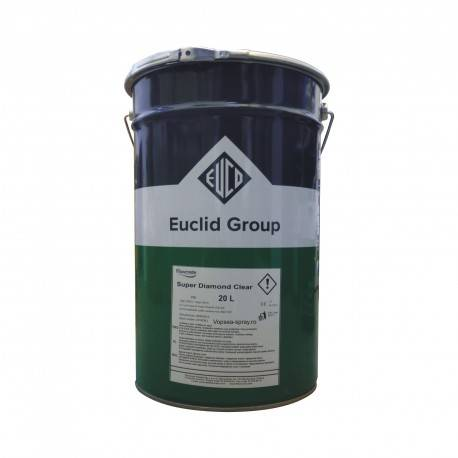 Lac Super Diamond Clear Euclid Chemical 20 Litri