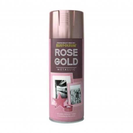 Vopsea Spray Rose-Gold Metallic 400ml