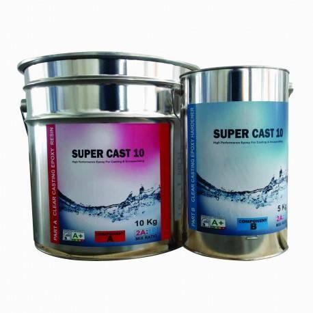 Rasina Epoxidica Transparenta de Turnare Super Cast 10 - 15Kg