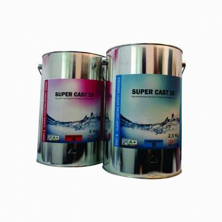 Rasina Transparenta Epoxidica de Turnare Super Cast 10 - 7,5Kg