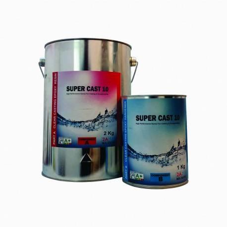 Rasina Epoxidica Super Cast 10 Transparenta 3Kg