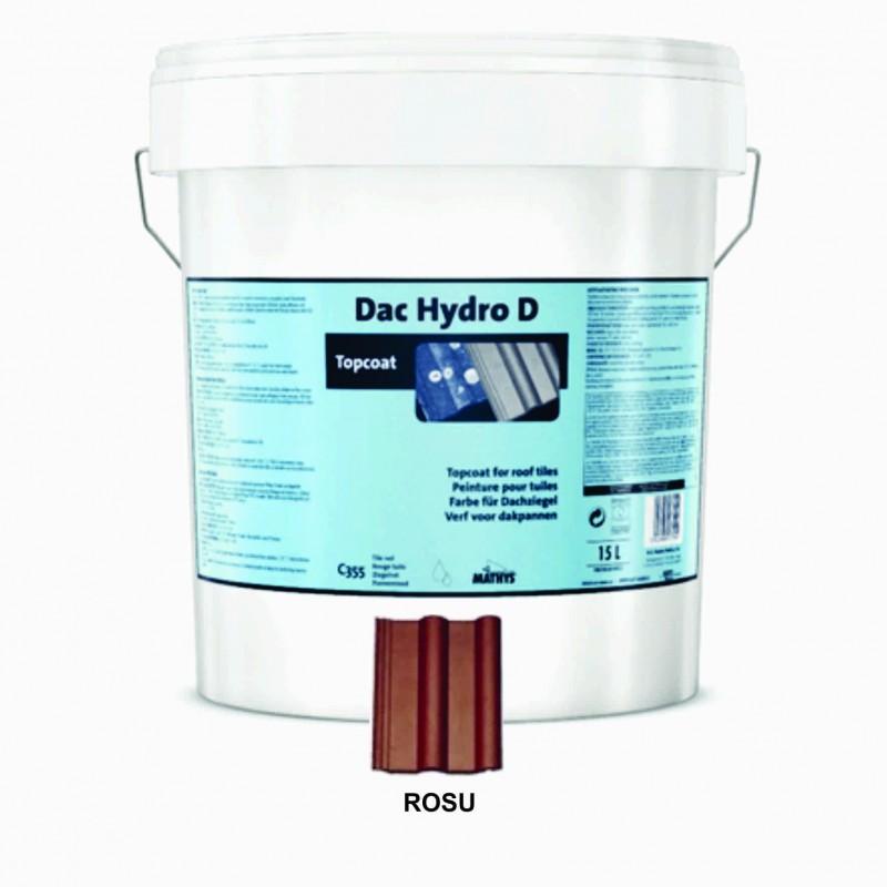 Vopsea Tigla Dac Hydro D Rosu 15 Litri