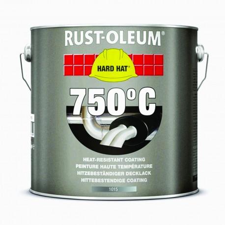 Vopsea Argintie Rezistenta la Caldura 750 C - 2,5 L