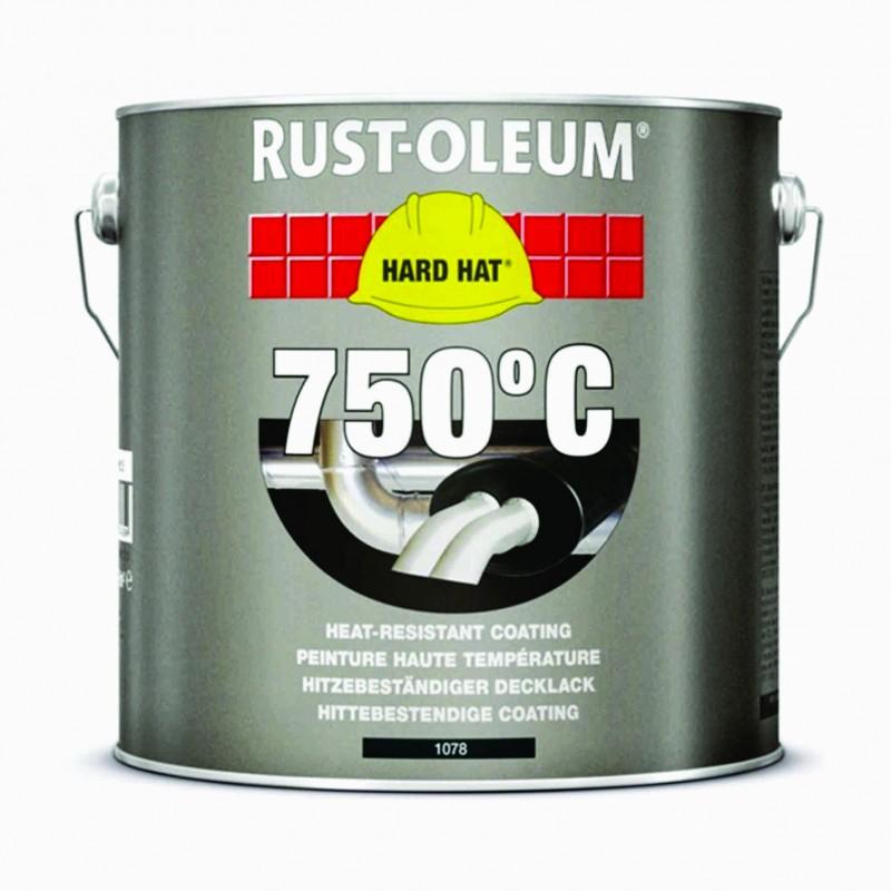 Vopsea Termorezistenta Neagra 750 Celsius, 2,5 Litri
