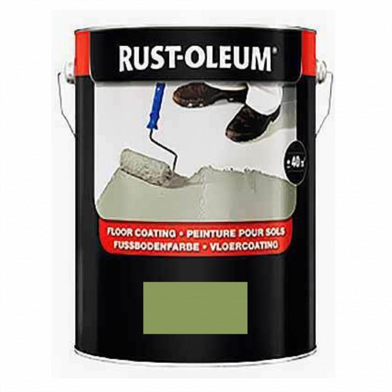 Vopsea Beton Verde 7100 Rust-Oleum 5 Litri
