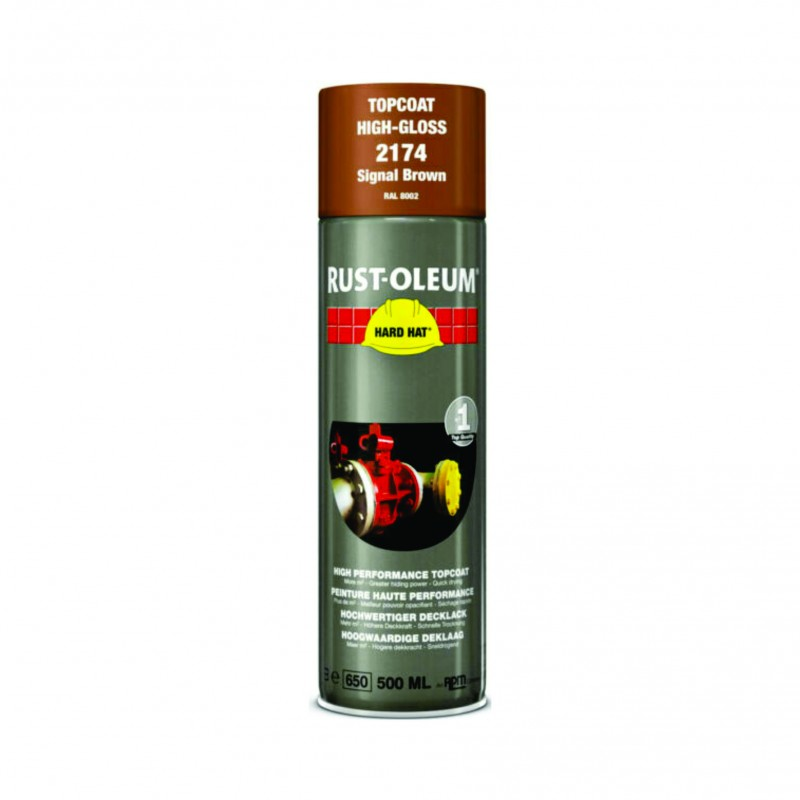 Vopsea Spray Profesionala RAL 8002 Maron 500ml