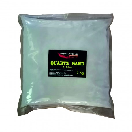 Nisip Quartz 0,1-0,3 mm 3 Kg