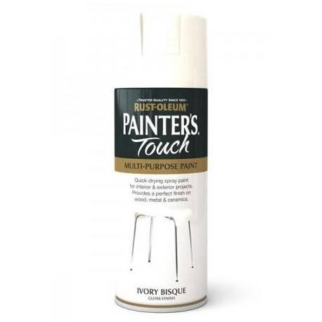 Vopsea Spray Painter's Touch Gloss Ivory Bisque 400ml