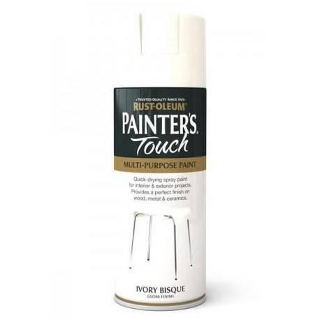 Vopsea Spray Painter's Touch Satin Bej Deschis / Ivory Silk 400ml