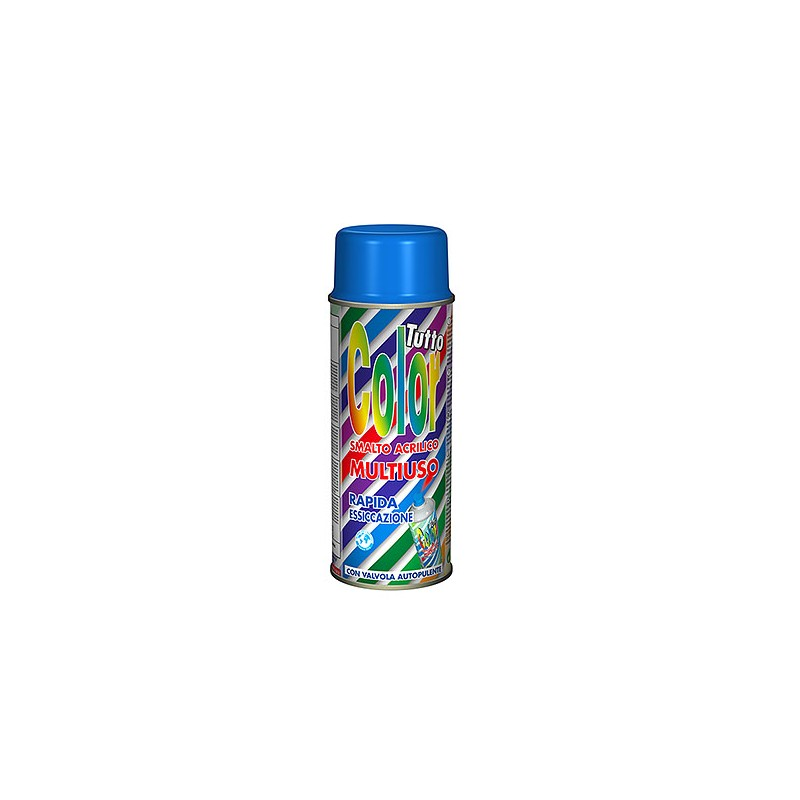 Vopsea Spray Multisuprafete Albastru RAL 5010 Tuttocolor Macota 400ml