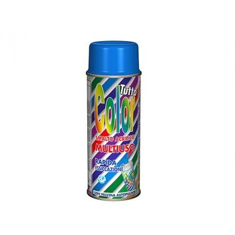 Vopsea Spray Multisuprafete Negru Lucios RAL 9005 Tuttocolor Macota 400ml