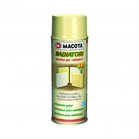 Vopsea Spray Radiatoare Si Calorifere Alb Macota 400ml.