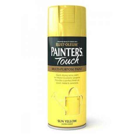 Vopsea Spray Painter's Touch Gloss Sun Yellow 400ml