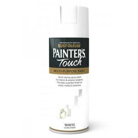 Vopsea Spray Painter's Touch Gloss Alba / White 400ml