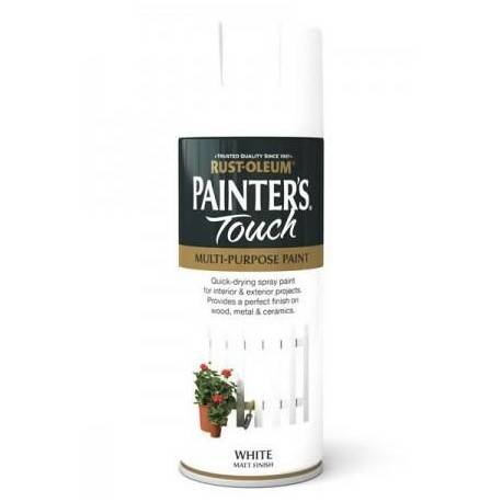 Vopsea Spray alb mat Painter's Touch Matt White 400ml