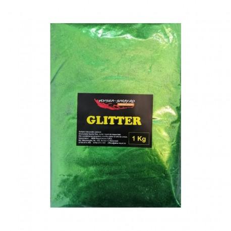 Glitter Decorativ / Sclipici Decorativ Verde 1 Kg