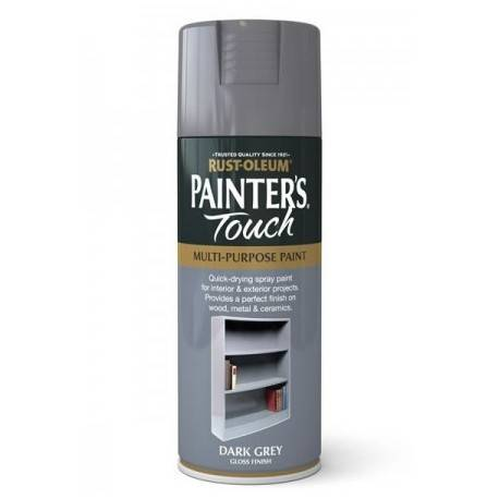 Vopsea Spray Painter's Touch Dark Grey 400ml