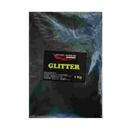 Sclipici Decorativ Negru (Glitter decorativ) 1 Kg