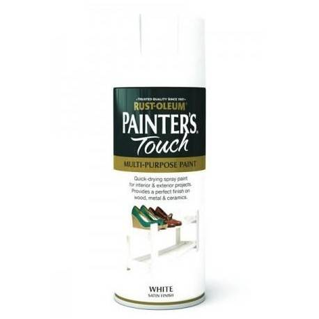 Vopsea Spray Painter's Touch Satin White 400ml