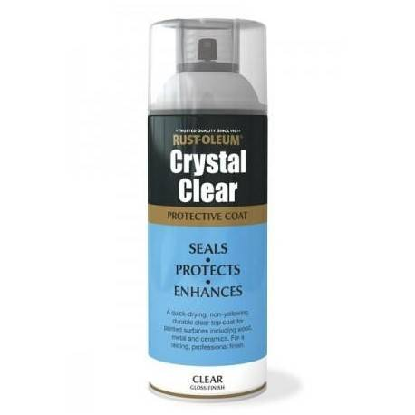 Lac Transparent Lucios Crystal Clear 400ml