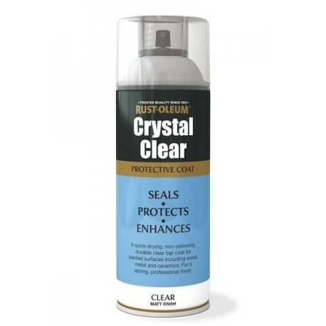 Lac Transparent Mat Crystal Clear 400ml