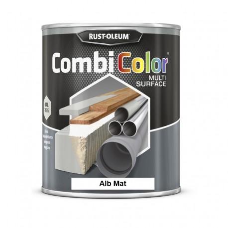 Vopsea CombiColor Multi-Suprafete Alb Mat 750 ml