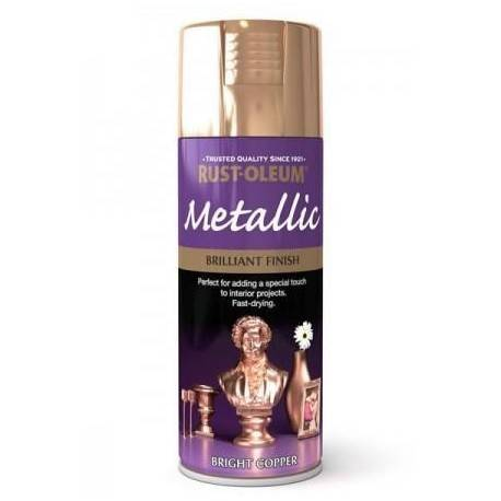 Vopsea Metalizata Bright Copper 400ml