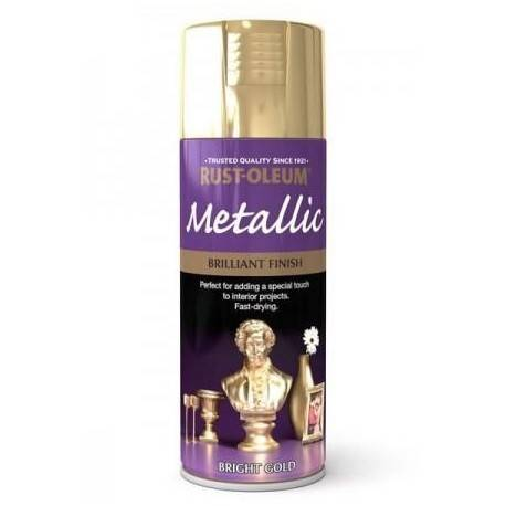 Vopsea Metalizata Aurie / Bright Gold 400ml