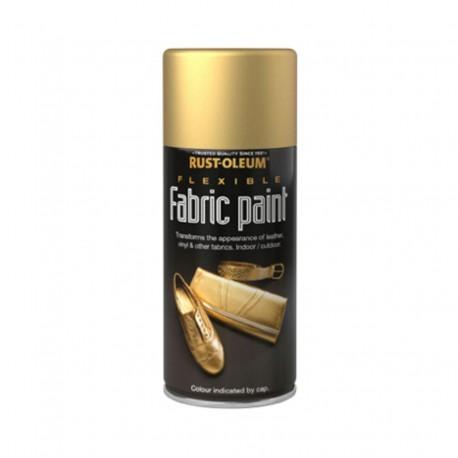 Spray Vopsea Aurie Reconditionare Tesaturi si Piele Ecologica 150ml